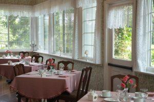The Breakfast Room at the Mercersburg Inn