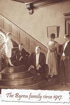 The Byron family circa 1917
