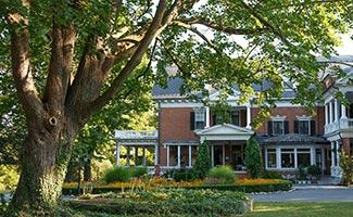 Mercersburg Inn sit on five acres of lush land