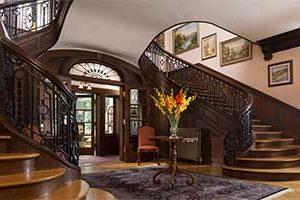 The Grand Lobby at the Mercersburg Inn