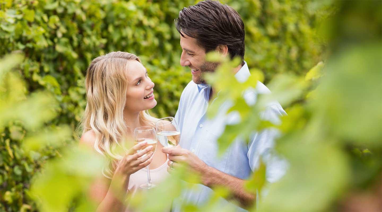 Honeymoon in Pennsylvania wine tasting