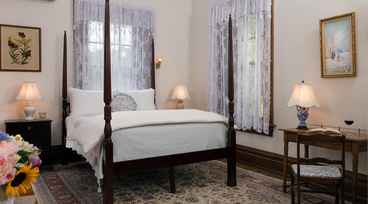 Bed and Breakfast near Harrisburg, PA - Garden View Room