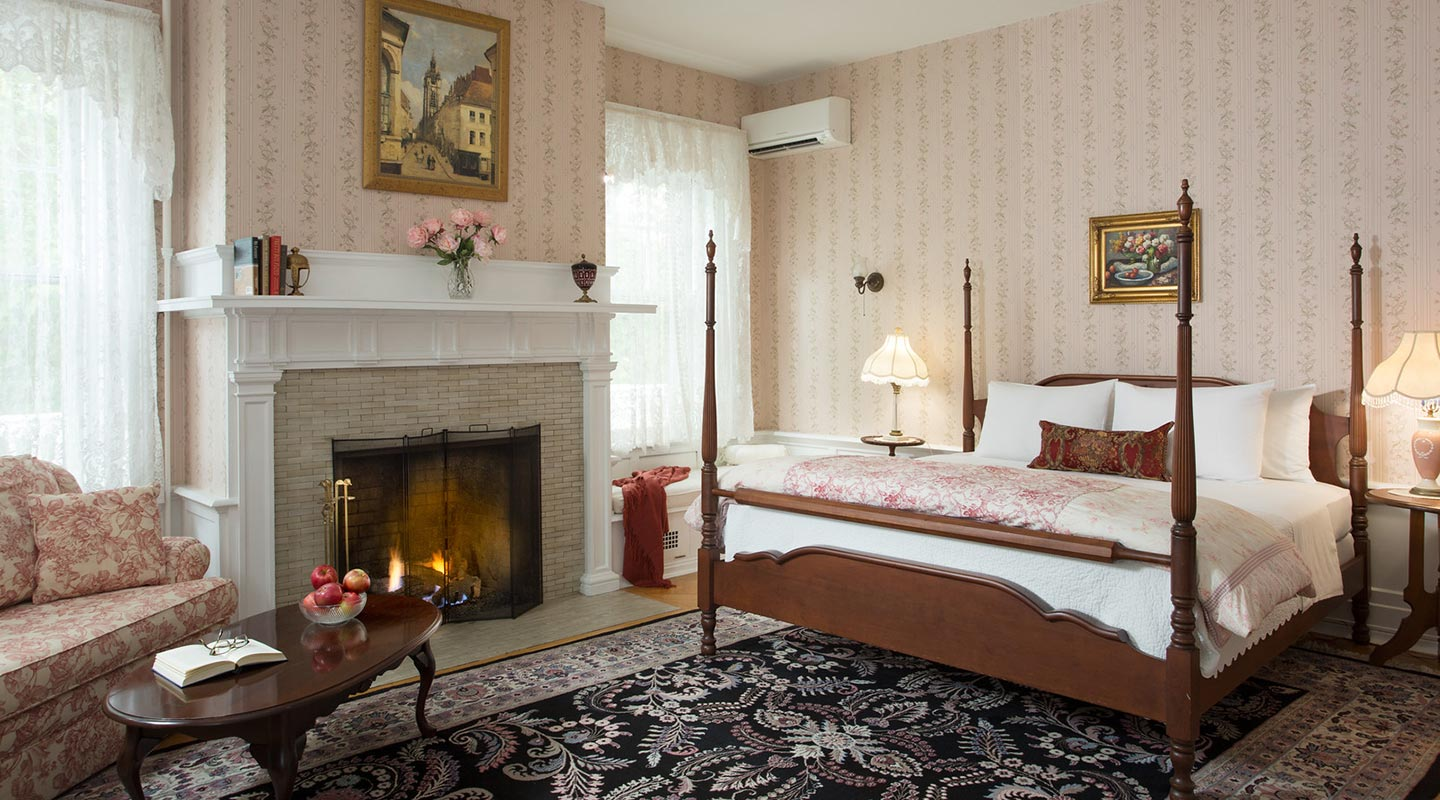 Marie Claire room at our Romantic Bed and Breakfast near Harrisburg, PA