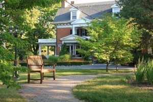 A path at Mercersburg Inn