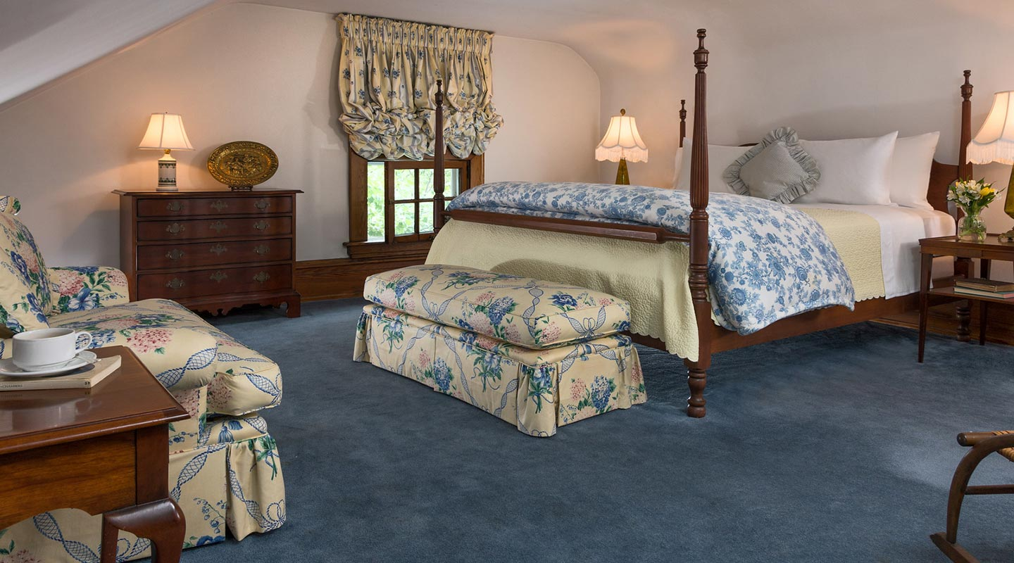 Bed and breakfast in PA - the Romantic Retreat room