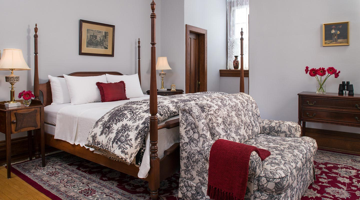 Romantic Bed and Breakfast in PA - Vaughn's Room