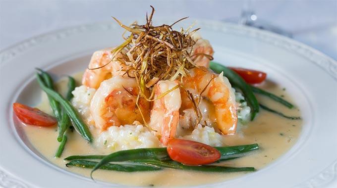 A delicious shrimp plate