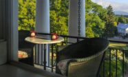 Private Balcony at our Mercersburg Hotel