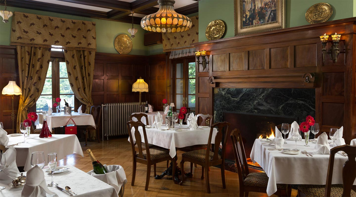 Dining at Mercersburg Inn