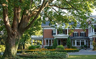 Mercersburg Inn sit on five acres of lush land