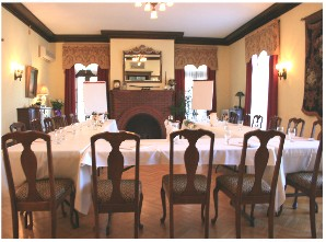 A large spacious meeting room perfect for conferences and get togethers
