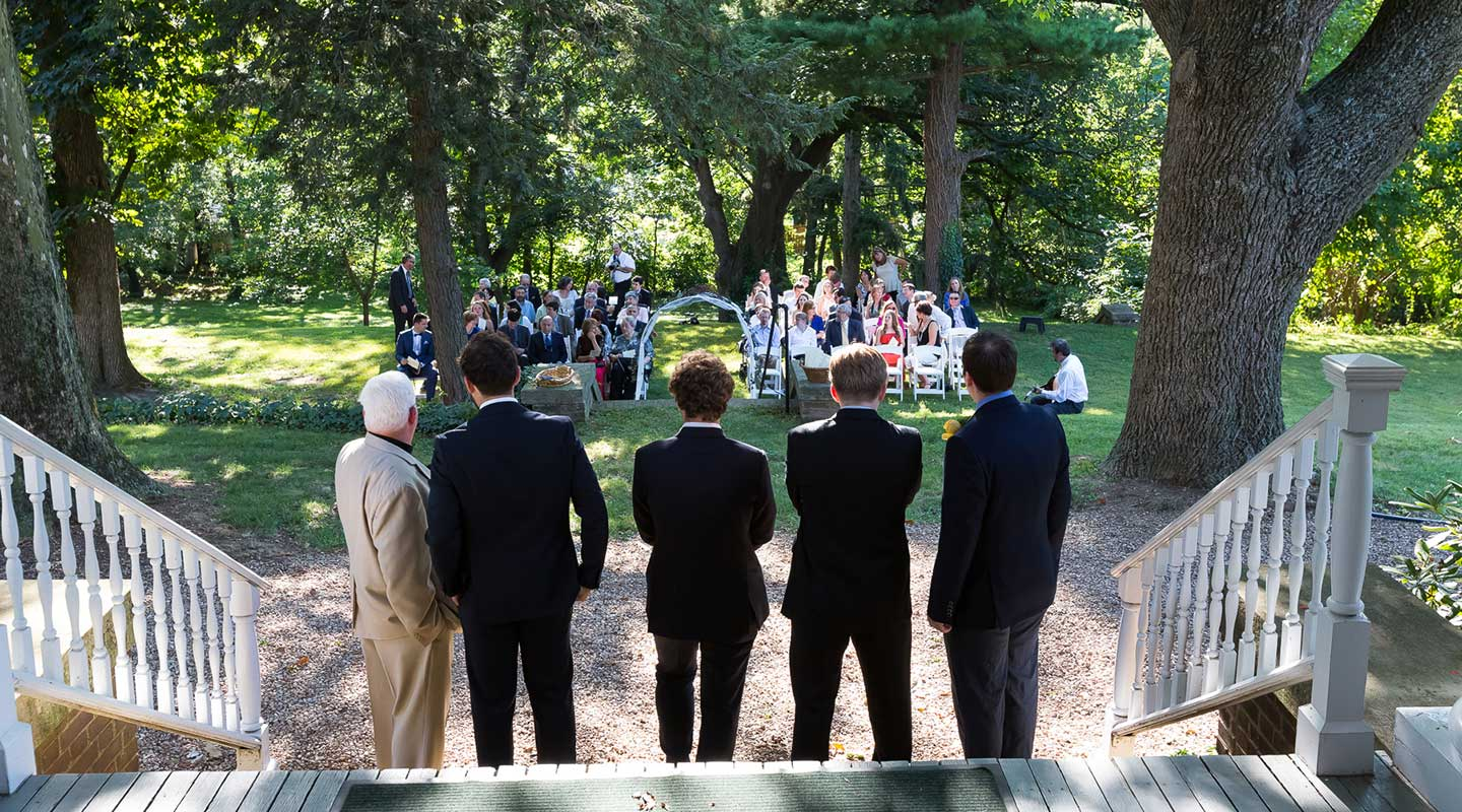 A Magical PA wedding - the groomsmen