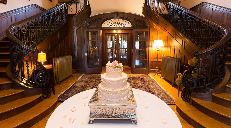 Wedding Cake at a Magical Pennsylvania Wedding