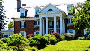 The front of the Mercersburg Inn
