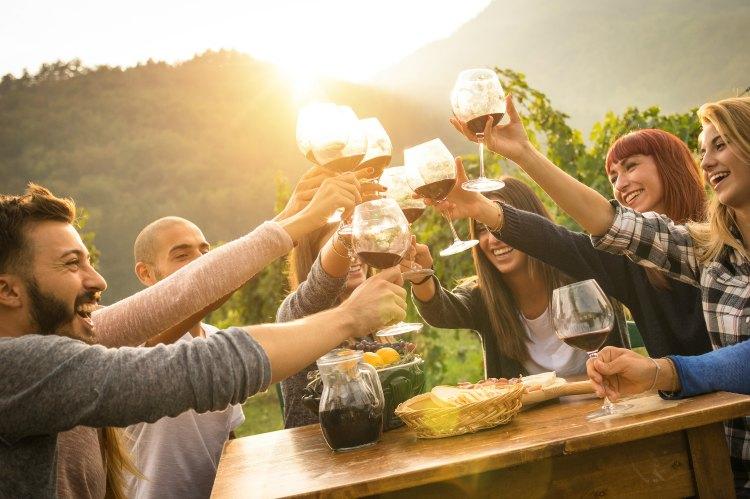 Wine Tasting at Knob Hall Winery