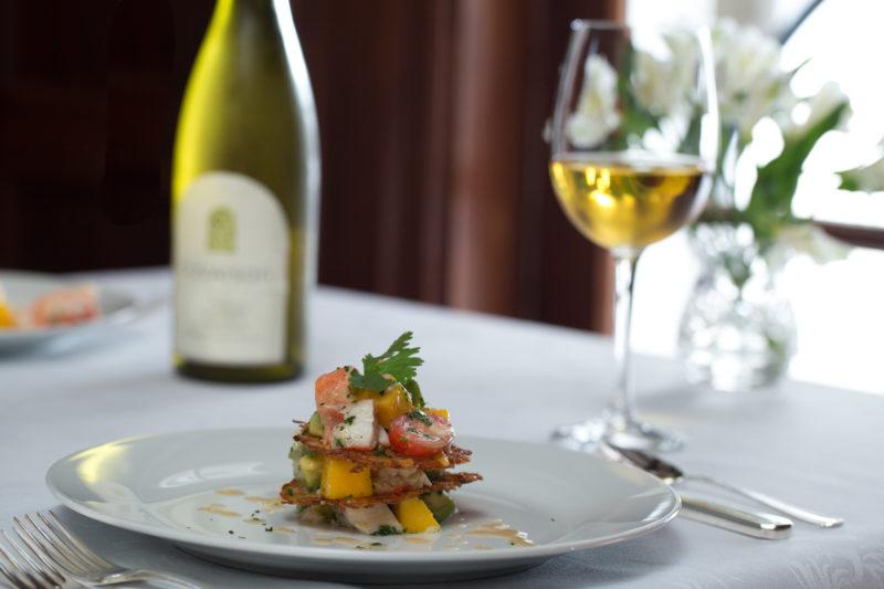 Dinner & Wine at Foodie Weekend at Mercersburg Inn