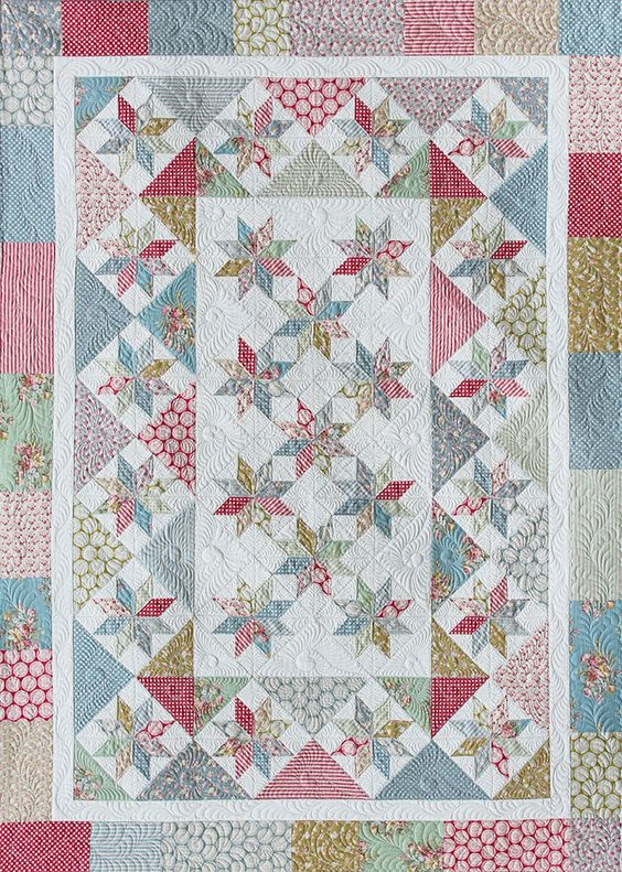 Midweek Quilting Weekend: Sugar and Spice Quilt