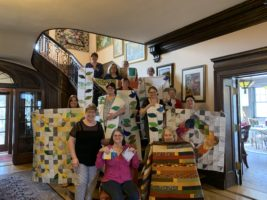 Quilting Weekend with Frankie Crosby and students
