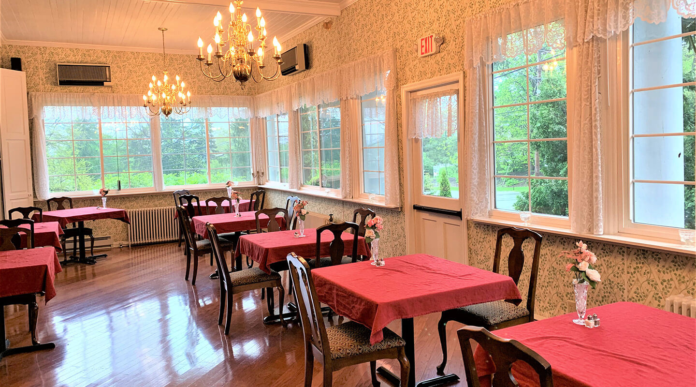 Brunch dining room