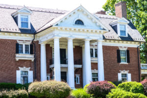 The exterior front of the Mercersburg Inn