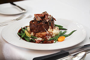 Char-Grilled Filet of Beef at Byron's Restaurant