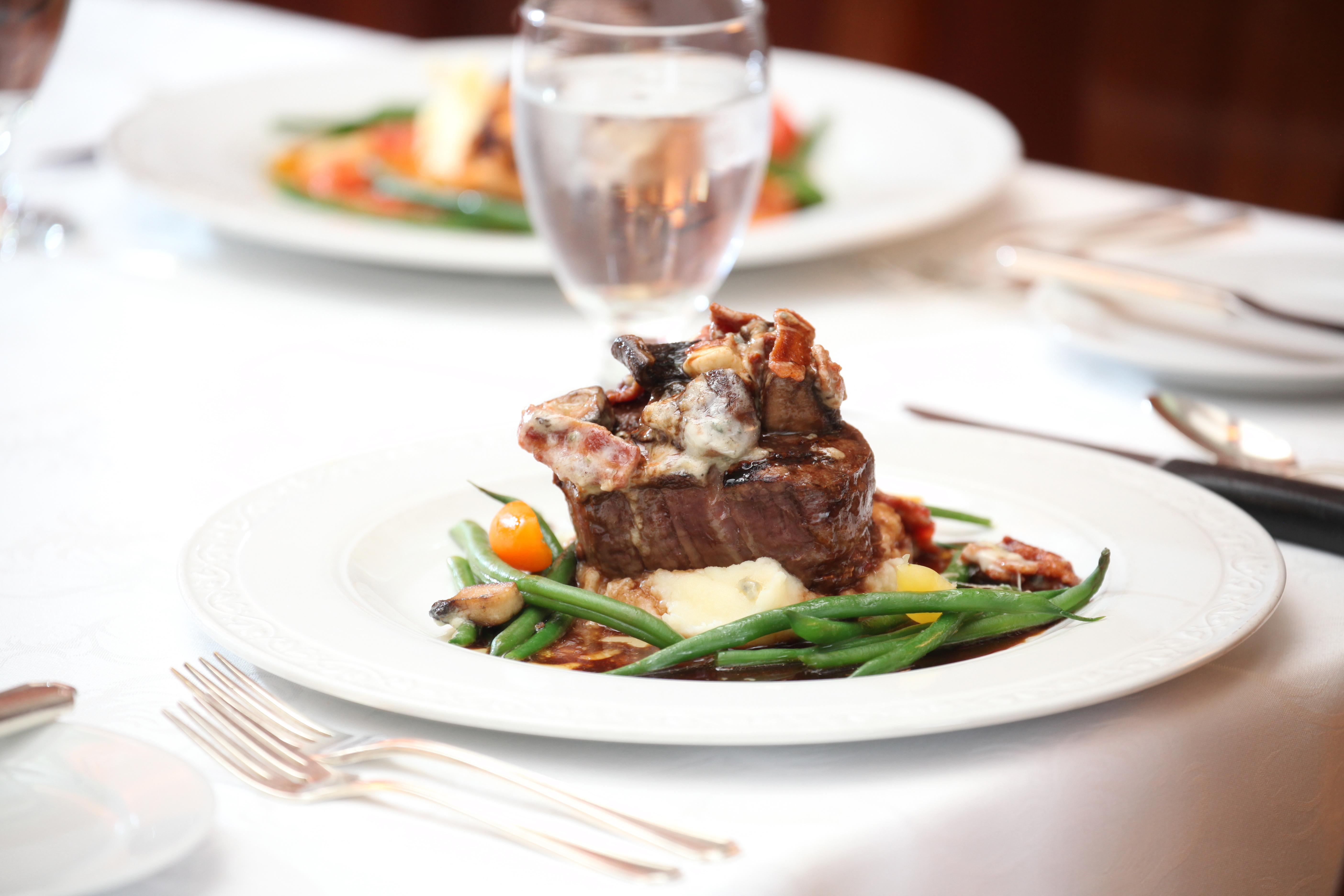 Char-Grilled Filet of Beef offered at Mercerburg