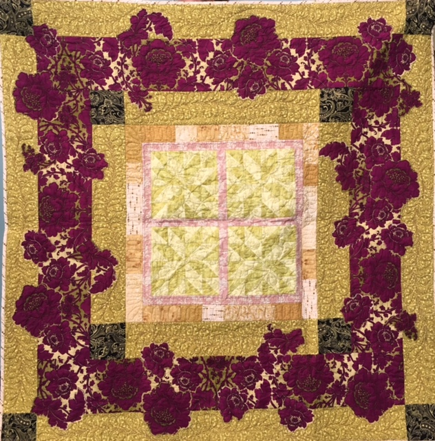 Quilting Weekend Project: Wine and Roses