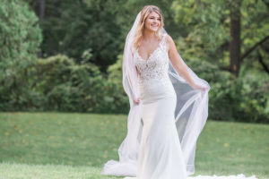 Beautiful bride at our Pennsylvania wedding venue