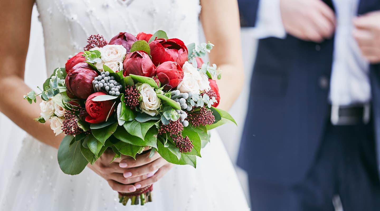 Bridal bouquet by a Pennsylvania wedding photographer